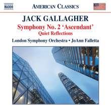 Jack Gallagher (geb. 1947): Symphonie Nr.2, CD