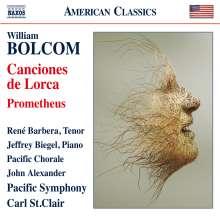 William Bolcom (geb. 1938): Canciones de Lorca, CD