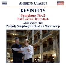 Kevin Puts (geb. 1972): Symphonie Nr.2, CD