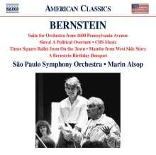 Leonard Bernstein (1918-1990): Orchesterwerke, CD