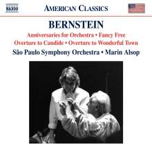 Leonard Bernstein (1918-1990): Fancy Free Ballet, CD