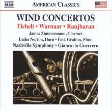 Frank Ticheli (geb. 1958): Klarinettenkonzert, CD
