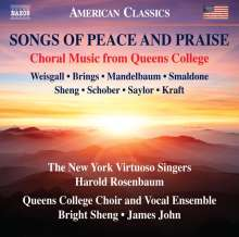 Songs of Peace and Praise, CD
