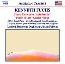 """Kenneth Fuchs (geb. 1956): Klavierkonzert """"Spiritualist"""", CD"""