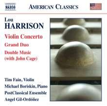 Lou Harrison (1917-2003): Violinkonzert, CD