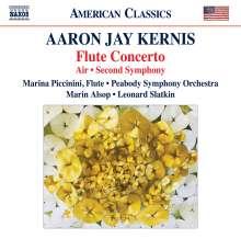 Aaron Jay Kernis (geb. 1960): Flötenkonzert, CD