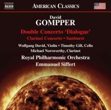 David Gompper (geb. 1954): Konzert für Violine,Cello & Orchester, CD