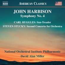 John Harbison (geb. 1938): Symphonie Nr.4, CD