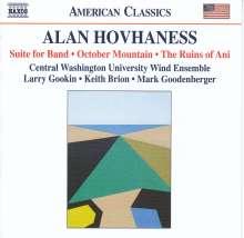 Alan Hovhaness (1911-2000): Kammermusik für Bläser, CD