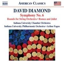 David Diamond (1915-2005): Symphonie Nr.6, CD