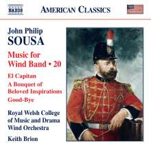 John Philip Sousa (1854-1932): Music for Wind Band Vol.20, CD