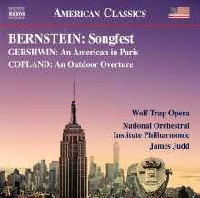 Leonard Bernstein (1918-1990): Songfest, CD