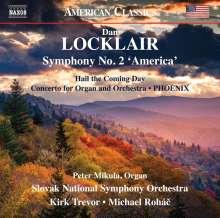 "Dan Locklair (geb. 1949): Symphonie Nr.2 ""America"", CD"