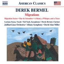 Derek Bermel (geb. 1967): Migration Series für Jazz-Ensemble & Orchester, CD