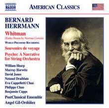 Bernard Herrmann (1911-1975): Whitman (Radio-Hörspiel von Norman Corwin), CD