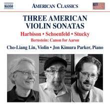 Cho-Liang Lin - Three American Violin Sonatas, CD
