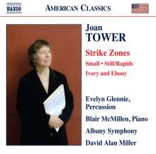 Joan Tower (geb. 1938): Strike Zones für Percussion & Orchester, CD