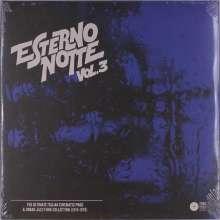 Esterno Notte Vol. 3 - The Ultimate Italian Cinematic Prog & Urban Jazz-Funk Collection (1974-1979), 2 LPs