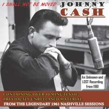 Johnny Cash: I Shall Not Be Moved, CD