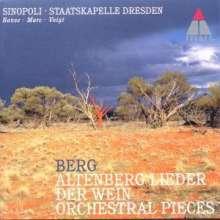 Alban Berg (1885-1935): 7 Frühe Lieder (Orchesterversion 1928), CD