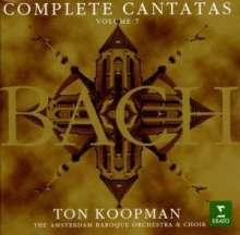 Johann Sebastian Bach (1685-1750): Sämtliche Kantaten Vol.7 (Koopman), 3 CDs