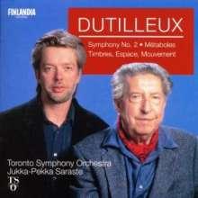 Henri Dutilleux (1916-2013): Symphonie Nr.2, CD