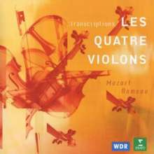 Les Quatre Violons - Transcriptions, CD