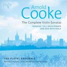 Arnold Cooke (1906-2005): Violinsonaten Nr.1 & 2, CD