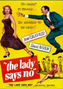 Lady Says No, DVD