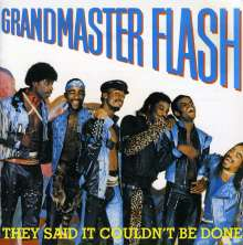 Grandmaster Flash: They Said It Couldn't Be Done, CD