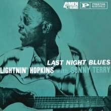 Sam Lightnin' Hopkins: Last Night Blues (180g), LP