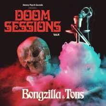 Bongzilla & Tons: Doom Sessions Vol.4, CD