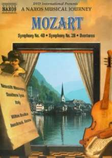 Wolfgang Amadeus Mozart (1756-1791): Symphonien Nr.28 & 40, DVD