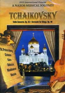 Peter Iljitsch Tschaikowsky (1840-1893): Violinkonzert op.35, DVD