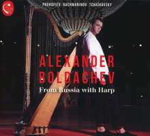 Alexander Boldachev - From Russia with Harp, CD