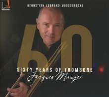 Jacques Mauger - Sixty Years of Trombone, CD