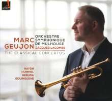 Marc Geujon - The Classical Concertos, CD