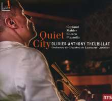 Olivier Anthony Theurillat - Quiet City, CD