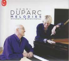 "Henri Duparc (1848-1933): Lieder ""Melodies"", CD"