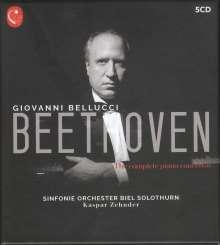 Ludwig van Beethoven (1770-1827): Klavierkonzerte Nr.1-5, 5 CDs