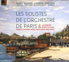 Französische Kammermusik mit Bläsern und Klavier, CD