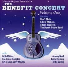 Warren Haynes: Benefit Concert Vol.1: Live In Asheville, North Carolina, 2 CDs