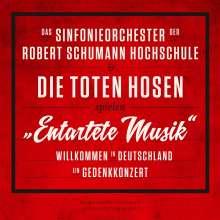 """Das Sinfonieorchester der Robert Schumann Schule & Die Toten Hosen: """"Entartete Musik"""": Willkommen in Deutschland – ein Gedenkkonzert (180g), 3 LPs"""