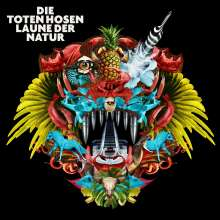 Die Toten Hosen: Laune der Natur (180g) (Special-Edition inkl. »Learning English Lesson 2«), 3 LPs und 2 CDs