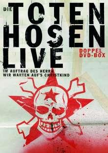 Die Toten Hosen: Live - Im Auftrag des Herrs / Wir warten auf's Christkind, 2 DVDs