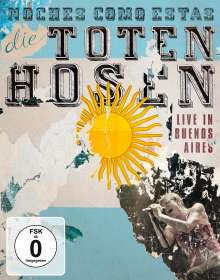 Die Toten Hosen: Noches Como Estas: Live In Buenos Aires & Betrunken im Dienst: Wohnzimmer-Jubiläumstour, 2 DVDs
