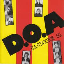 D.O.A.: Hardcore '81 (Limited-Edition) (Colored Vinyl), LP