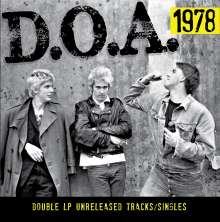 D.O.A.: 1978, 2 LPs