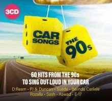 Car Songs - The 90's, 3 CDs