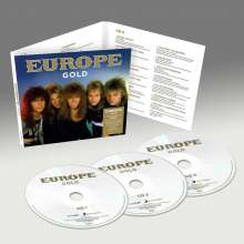 Europe: Gold, 3 CDs